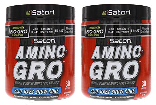 iSatori Amino Gro Blue Razz Servings product image