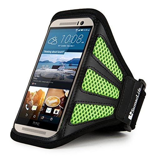Sports Armband for HTC Desire Eye (Black) - 5