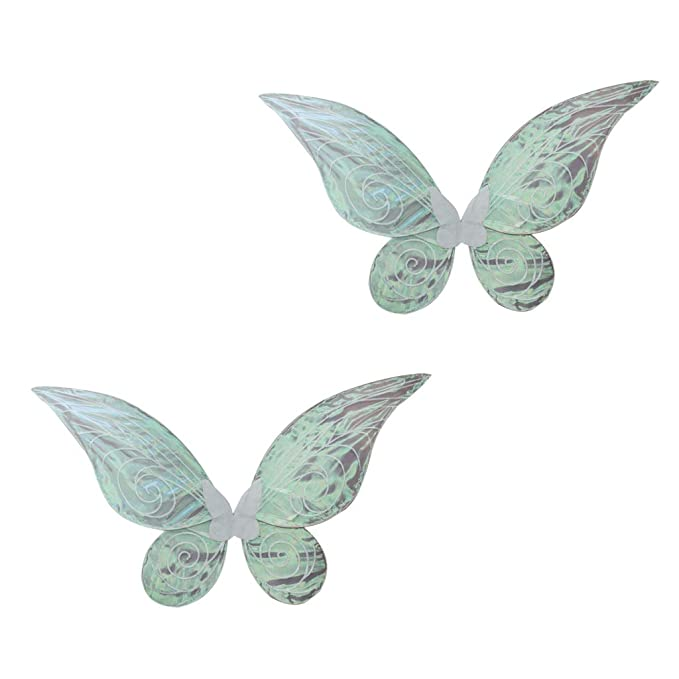 Novelty Shiny Color Changing Butterfly Angel Fairy Wing Party Costume Adult Kids