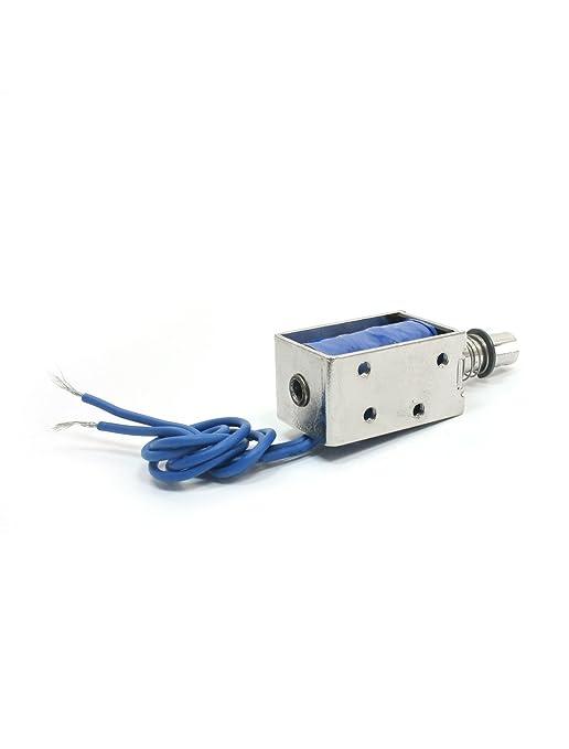 Amazon.com : DC24V 700mA 100 g / 10 mm de tracción Tipo de bastidor abierto electroimán del solenoide : Baby