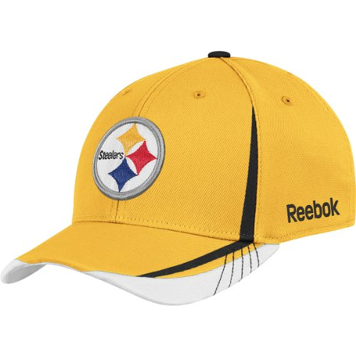 NFL Boy's Youth Draft Cap - Tw94B, Pittsburgh Steelers, - Football Hat Reebok