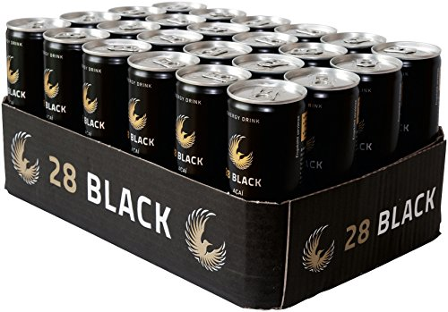 28 Black Acai Energy, 24er Pack, Einweg (24 x 250 ml)