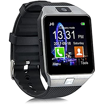 Amazon.com: Bluetooth Smart Watch, Aosmart U8 Smartwatch for ...
