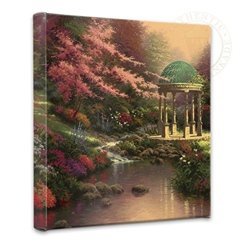 (Thomas Kinkade Pools of Serenity 14 x 14 Gallery Wrap Canvas)