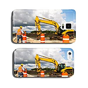 Road construction worker cell phone cover case iPhone5