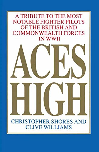 British Fighters Ww2 - Aces High: A Tribute to the Most Notable Fighter Pilots of the British and Commonwealth Forces of WWII, Volume One