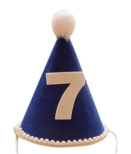 Alien Storehouse Número 7 Sombrero del Niño del Sombrero del Cumpleaños  Parte 2 Piezas e3c8be42555