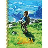 Caderno Universitário Zelda, Foroni 63.6140-1, Multicor