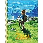 Caderno Universitário Zelda, Foroni 63.6140-1, Multicor