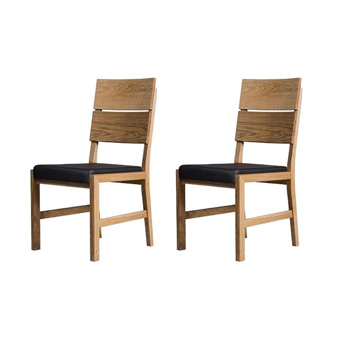 Alkove - Hayes - Set de 2 sillones de madera maciza con ...