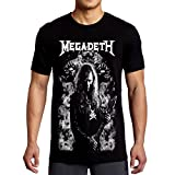 Search : Mazumi8 Megadeth Dave Mustaine Punk T-Shirt