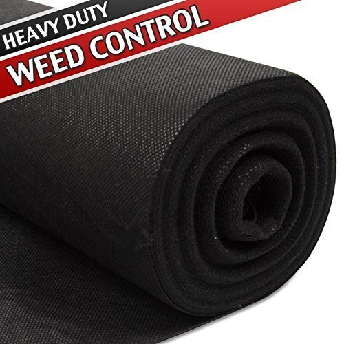 2xKingfisher 25m x 1m Heavy Duty Weed Control Guard Fabric Membrane Boxed