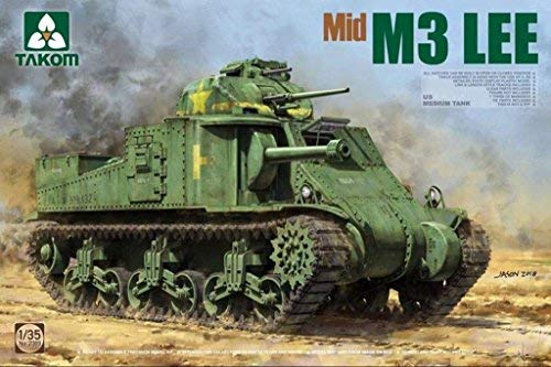 TAKom 1:35 US Medium Tank M3 Lee Mid Version - Plastic for sale  Delivered anywhere in USA