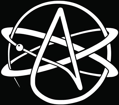 Atheism Atheist Religion Symbol Car Truck Window Bumper