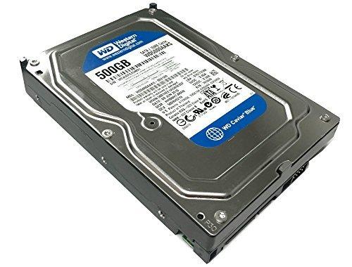 (Western Digital Caviar Blue WD5000AAKS 500GB 7200RPM 16MB Cache SATA 3.0Gb/s 3.5in Internal Hard Drive (Renewed))