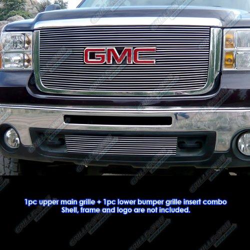 APS 2007-2010 GMC Sierra 2500/3500 HD Billet Grille Grill Combo Insert