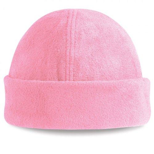 Beechfield Suprafleece Ski Hat Fleece Kappe 2 Stück Pink