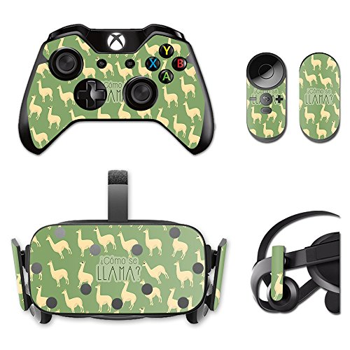 MightySkins Skin for Oculus Rift CV1 – Llama | Protective, Durable, and Unique Vinyl Decal wrap Cover | Easy to Apply, Remove, and Change Styles | Made in The USA