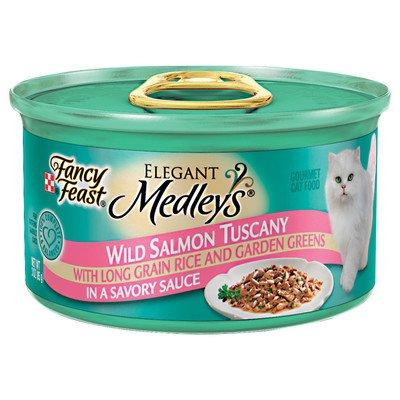 Elegant Medley Wild Salmon Tuscany Cat Food