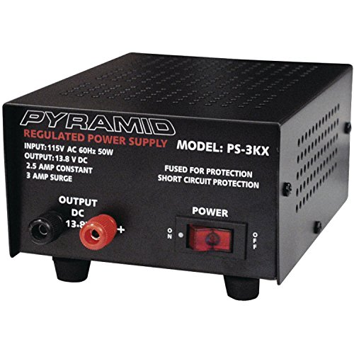 Pyramid PS3KX 3-Amp 12-Volt Power Supply
