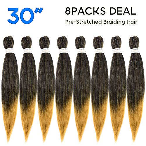 30 Pre Stretched Antibacterial Synthetic Extensions