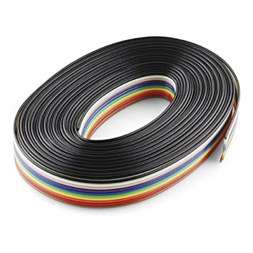 Amazon.com: Ribbon Cable - 10 wire (15ft): Computers & Accessories