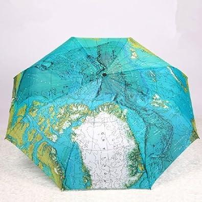 World map rain or shine umbrella amazon shoes bags world map rain or shine umbrella gumiabroncs Images