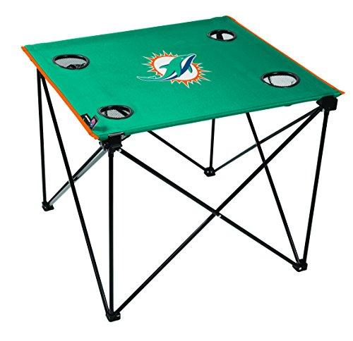NFL Miami Dolphins Unisex NFL OS Miadol TLG8 Delux Tablenfl OS Miadol TLG8 Delux Table, Orange, No Size