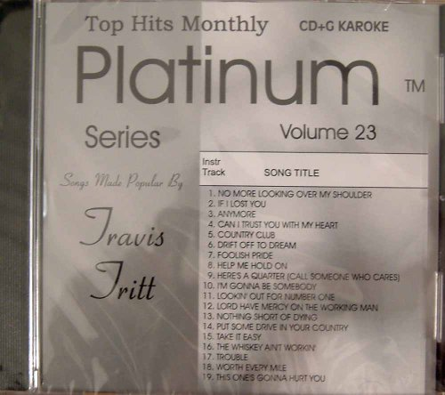 - Top Hits Monthly Platinum - Travis Tritt Karaoke