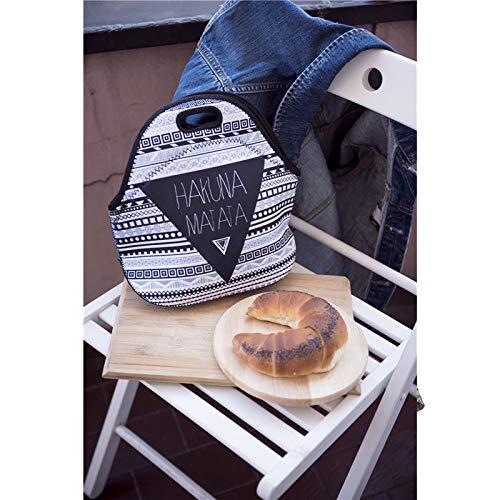 Chytaii.Bolsas t/érmicas Porta Alimentos Bolsas para Picnic Al Aire Libre Bolsa de Almuerzo Paquete de Almuerzo de los Estudiantes