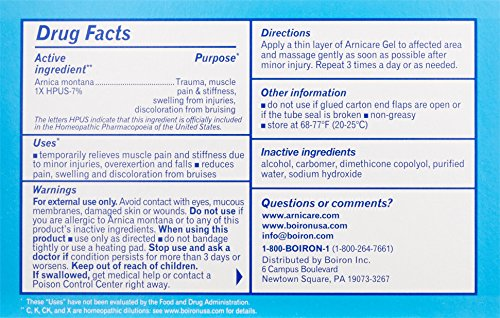Boiron-Arnica-Gel-for-Pain-Relief-26-Ounce-Topical-Analgesic-for-Neck-Pain-Back-Pain-Shoulder-Pain-Leg-and-Foot-Pain-Muscle-Pain-Joint-Pain-Relief-Arthritis-Natural-Active-Ingredient