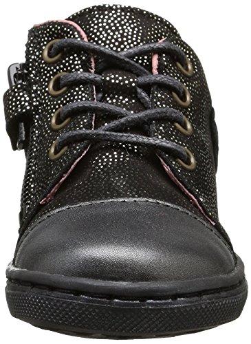 Aster Risette - Zapatos para bebes Bebé-Niñas Negro (8)