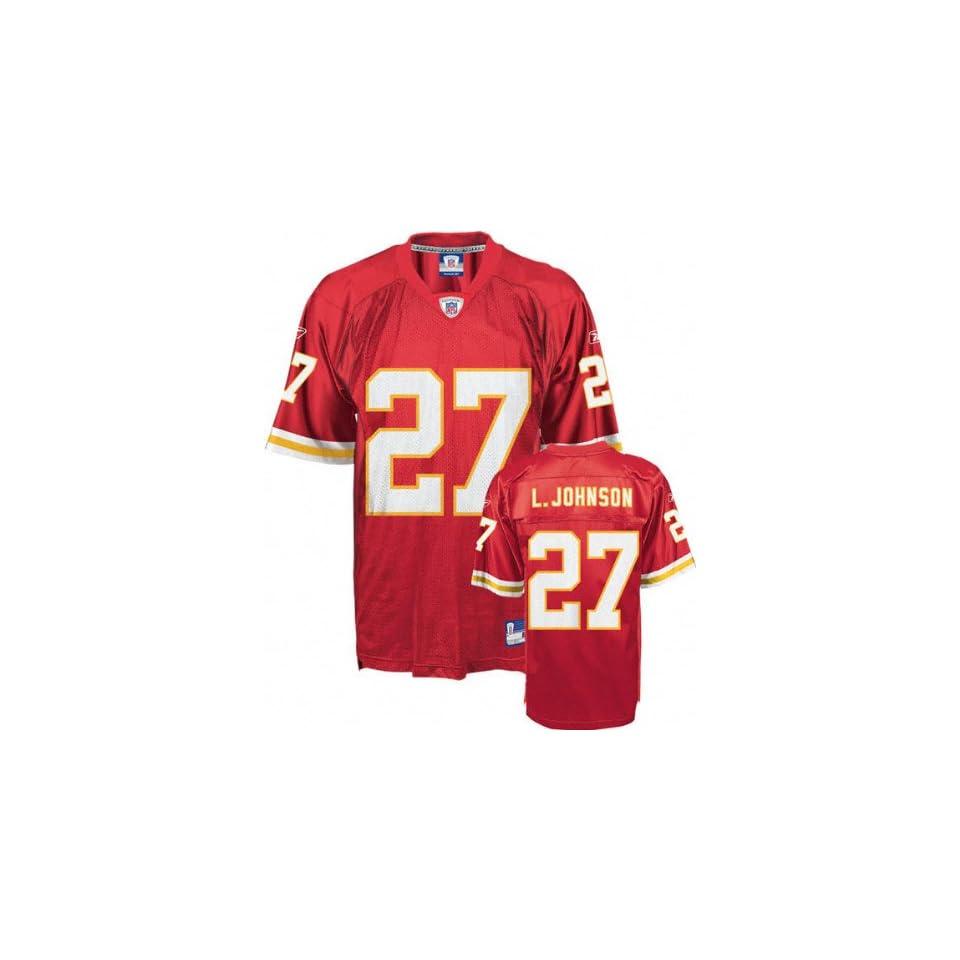Larry Johnson Kansas City Chiefs Red Toddler NFL Jersey