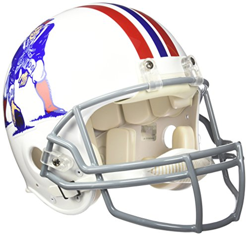 NFL New England Patriots Riddell Authentic Throwback Football Helmet -