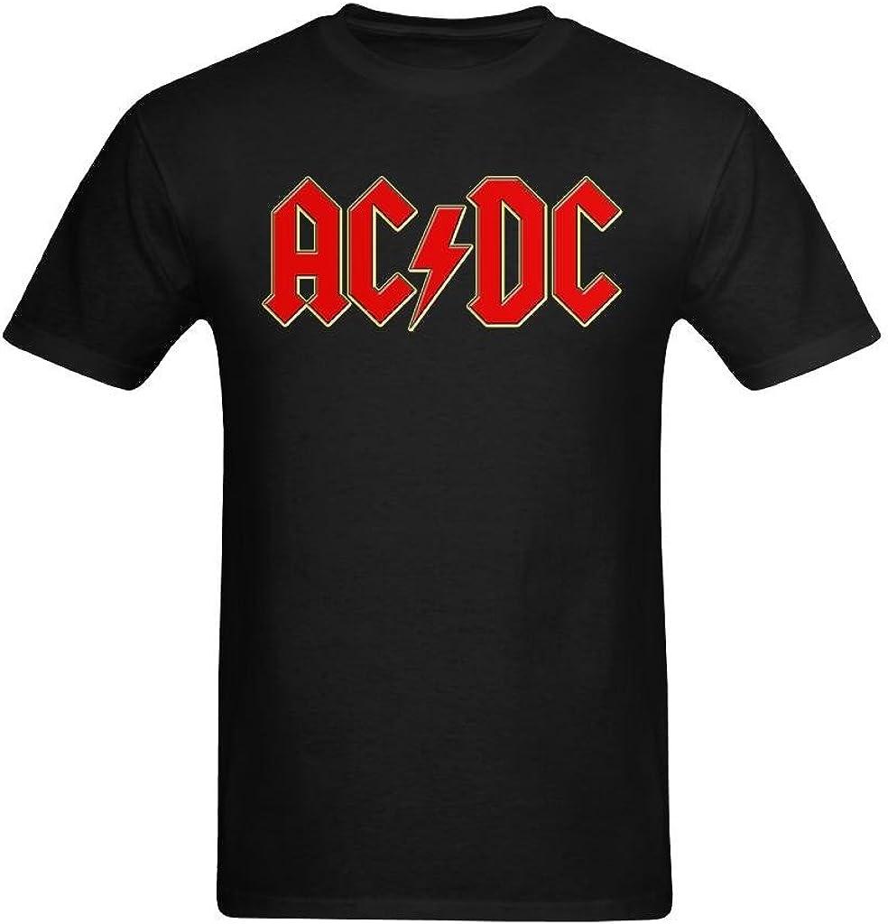 Good Luck Color Red Ac Dc Design Tee-shirt