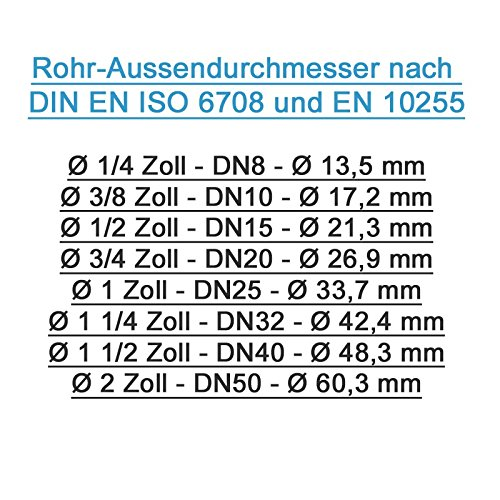 Gebo Robinetterie Fonte mall/éable de mousse Helle DS 1/1//4/ 42,4/mm 01.252.28.04