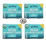 Four Sigmatic Reishi Mushroom Elixir Mix 2.16 Ounce 4 Pack