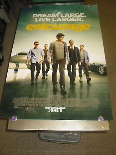 ENTOURAGE /ORIG. U.S. ONE SHEET MOVIE POSTER (JEREMY PIVEN) - Pivens Jeremy Movies