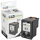 LD © Remanufactured Replacement for Hewlett Packard CH561WN (HP 61) Black Ink Cartridge for use in HP Deskjet & Officejet Series Printers
