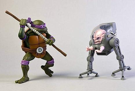 Amazon.com: Teenage Mutant Ninja Turtles 7 Inch Scale Action ...