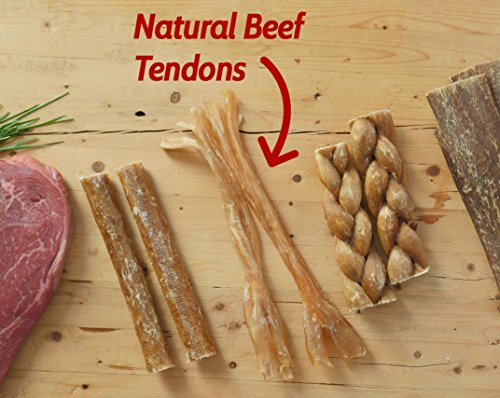 """Image of 7-9"""" Beef Tendon Chews for Dogs (10 sticks) 