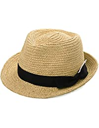 daee029b Womens Mens Straw Cuban Fedora Brim Panama Beach Havana Summer Sun Derby Hat