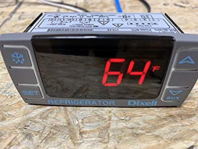 Dixell Temperature Controller XR03CX-4N0F1 Programmable-Commercial Refrigeration 120V