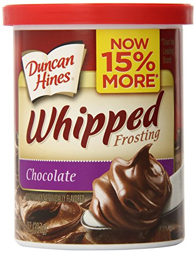 Duncan Hines Whipped Frosting, Chocolate, 14 oz (Chocolate Icing Mix)