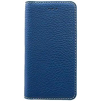 1e3d1a6b57 OWLTECH iPhone 7用 Lisse 手帳型ケース PU カードポケット付 ブルー OWL-CVIP709