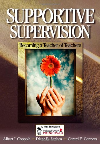 Supportive Supervision: Becoming a Teacher of Teachers