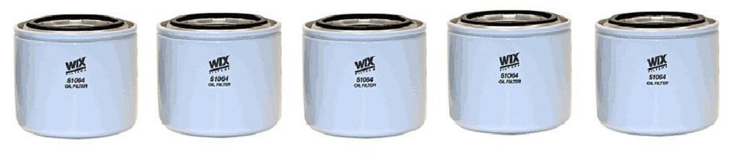 WIX Filters - 51064 Heavy Duty Spin-On Lube Filter (5)