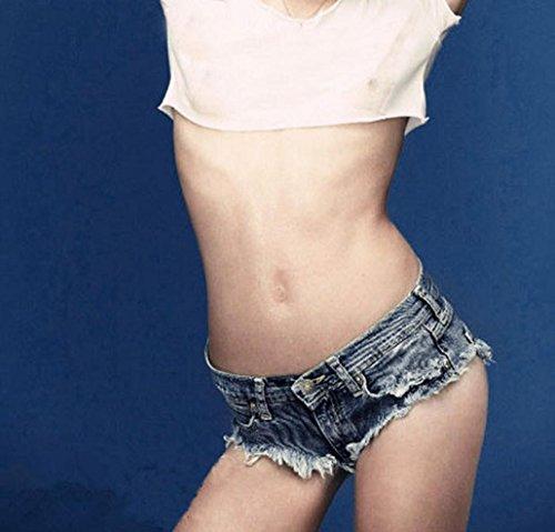 Jeans Shorts Denim Hot Sexy Pantaloni Donna Nappa Pants Distressed Alta Uomogo Vintage Vita 80TAwZTFq