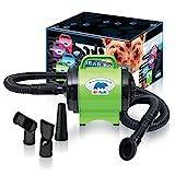 Image of BPD-1 Bear Power 2 HP High Velocity Pet Groomer Dryer, Lime Green