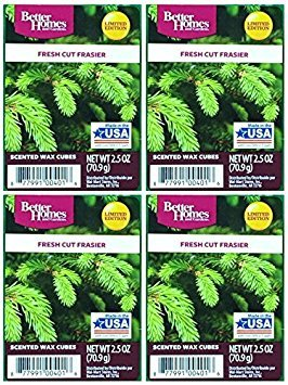 Better Homes and Gardens Fresh Cut Frasier Wax Cubes - 4-Pack from Better Homes & Gardens
